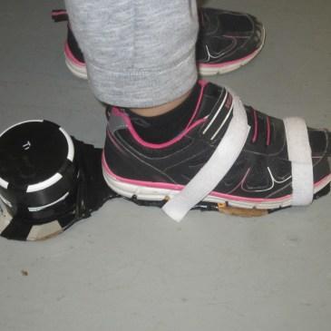 Noam's Incredible Vacuum Shoe