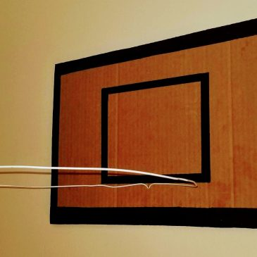 DIY Indoor Basketball Hoop