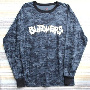 BUTCHERS logo Tee Blue