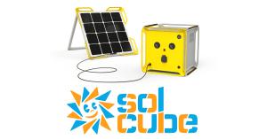 SolCube Solar Module Logo