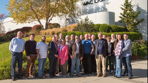 wac lighting hosts first ever landscape