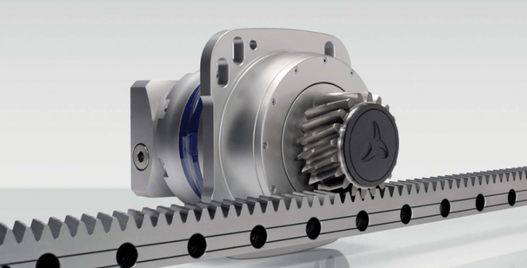 lubricating rack and pinion sets for