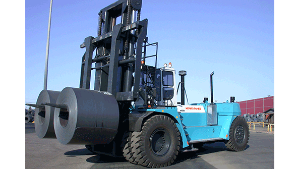 80-Ton Capacity Reach Stacker [New Product] | Material Handling and Logistics