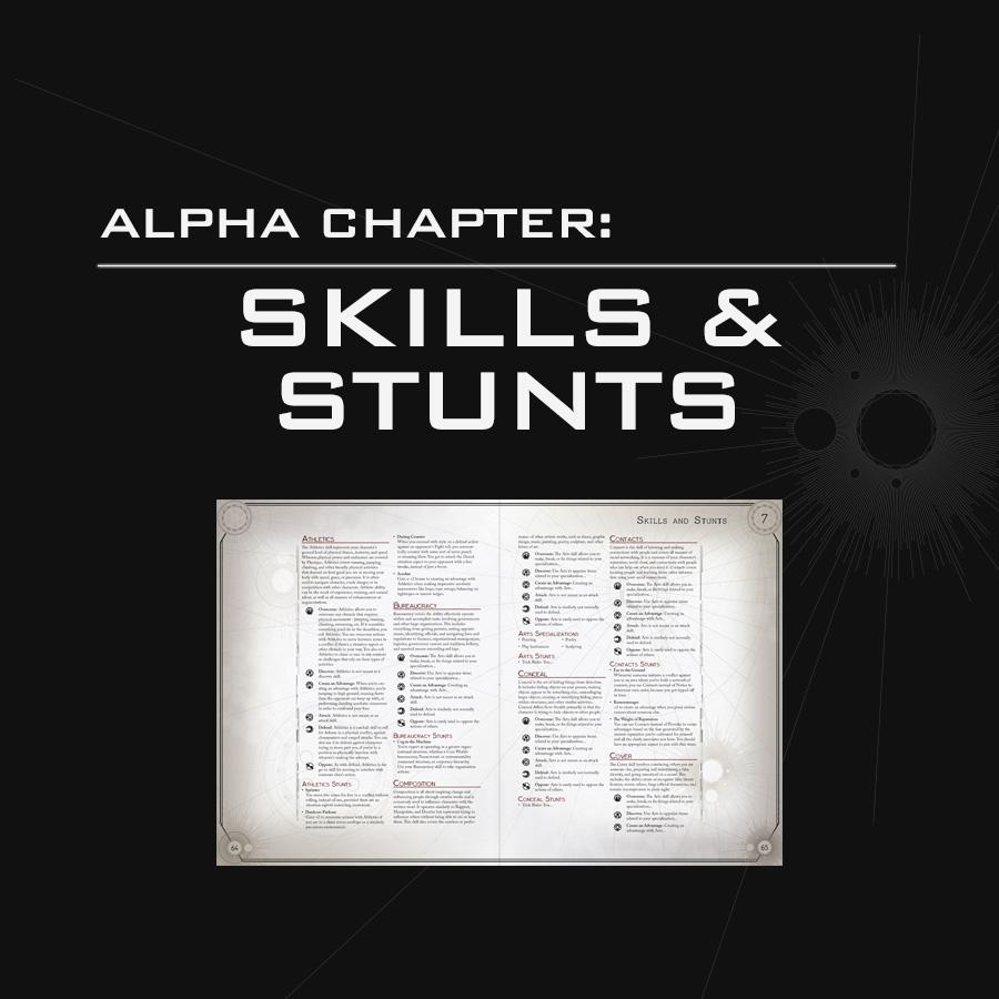Alpha Chapter: Skills & Stunts