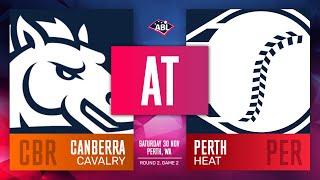 Canberra Cavalry Perth Heat Round 2 Game 2 - Canberra Cavalry @ Perth Heat   Round 2, Game 2