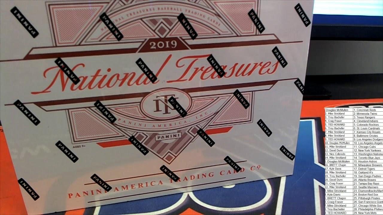 2019 Panini National Treasures Baseball ID 19NTBBRANDOM844 - 2019 Panini National Treasures Baseball ID 19NTBBRANDOM844