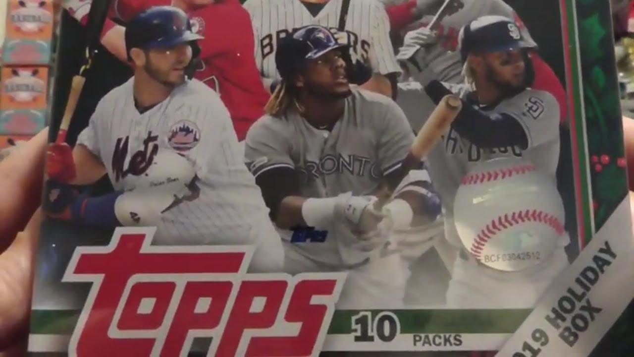 2019 Topps Holiday Baseball Break Auto to 50 - 2019 Topps Holiday Baseball Break Auto # to  50!