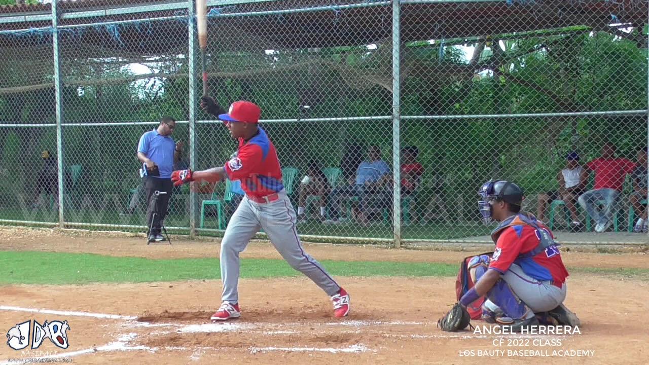 Angel Herrera CF 2022 Class From Los Bauty Baseball Academy Date 09.12.2019 - Angel Herrera CF 2022 Class From (Los Bauty Baseball Academy) Date: 09.12.2019