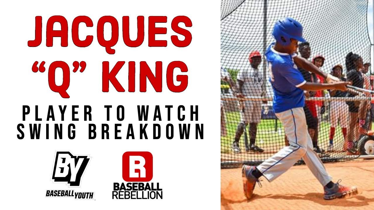 "Jacques Q King Baseball Youth Swing Breakdown - Jacques ""Q"" King | Baseball Youth | Swing Breakdown"