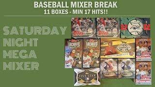 Saturday Night Live 20162019 Baseball Mega Mixer Break 19 - Saturday Night Live! 2016/2019 Baseball Mega Mixer Break #19!