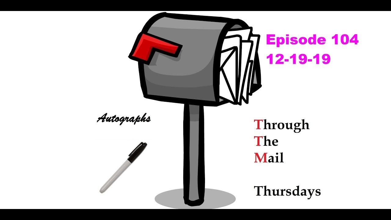 TTM Thursday Episode 104 3 Baseball Returns Through The Mail Thursdays - TTM Thursday Episode 104 ( 3 Baseball Returns ) Through The Mail Thursdays