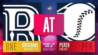 Brisbane Bandits Perth Heat Round 7 Game 2 - Brisbane Bandits @ Perth Heat | Round 7, Game 2