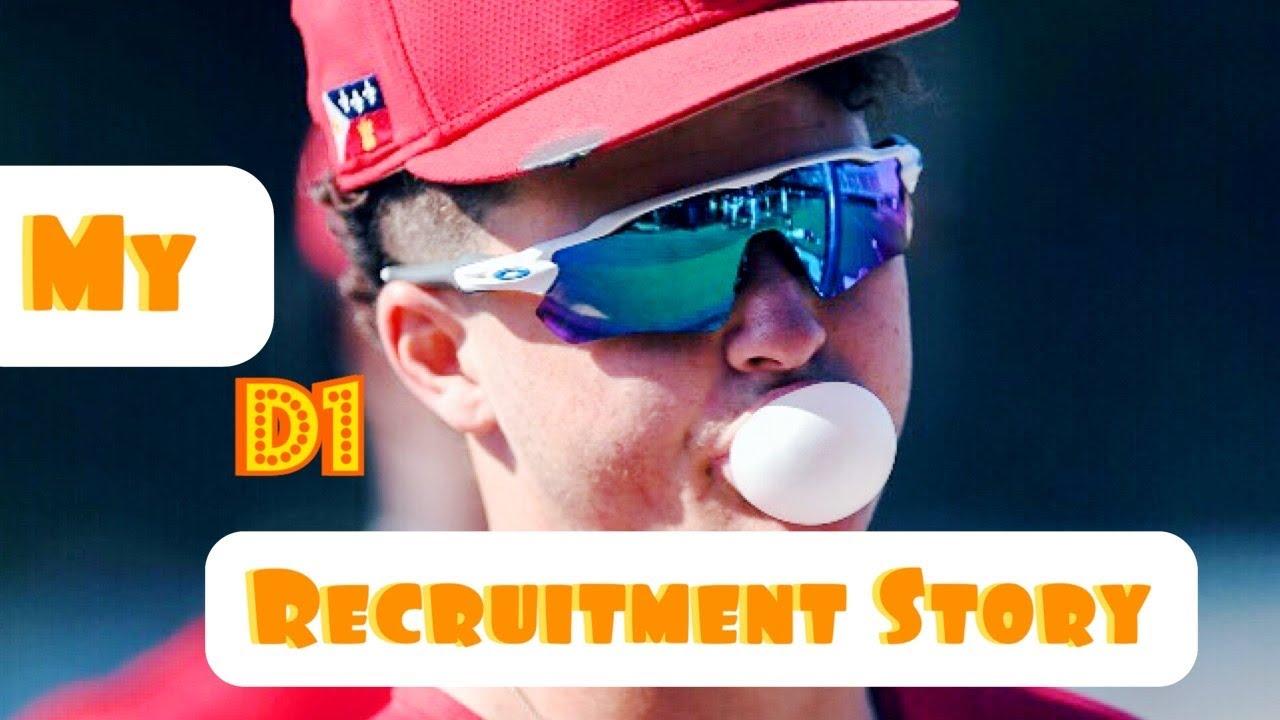 My D1 Baseball Recruitment Story MLB Draft Story - My D1 Baseball Recruitment Story & MLB Draft Story