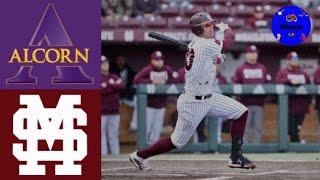 Alcorn State vs 8 Mississippi State 2020 College Baseball Highlights - Alcorn State vs #8 Mississippi State | 2020 College Baseball Highlights