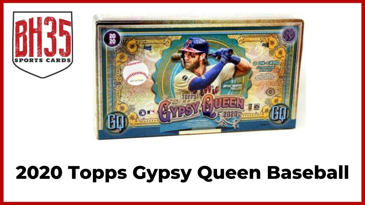 2020 Topps Gypsy Queen Baseball 10 Box Case Break 2 Pick Your Teams - 2020 Topps Gypsy Queen Baseball | 10 Box Case Break #2 Pick Your Teams