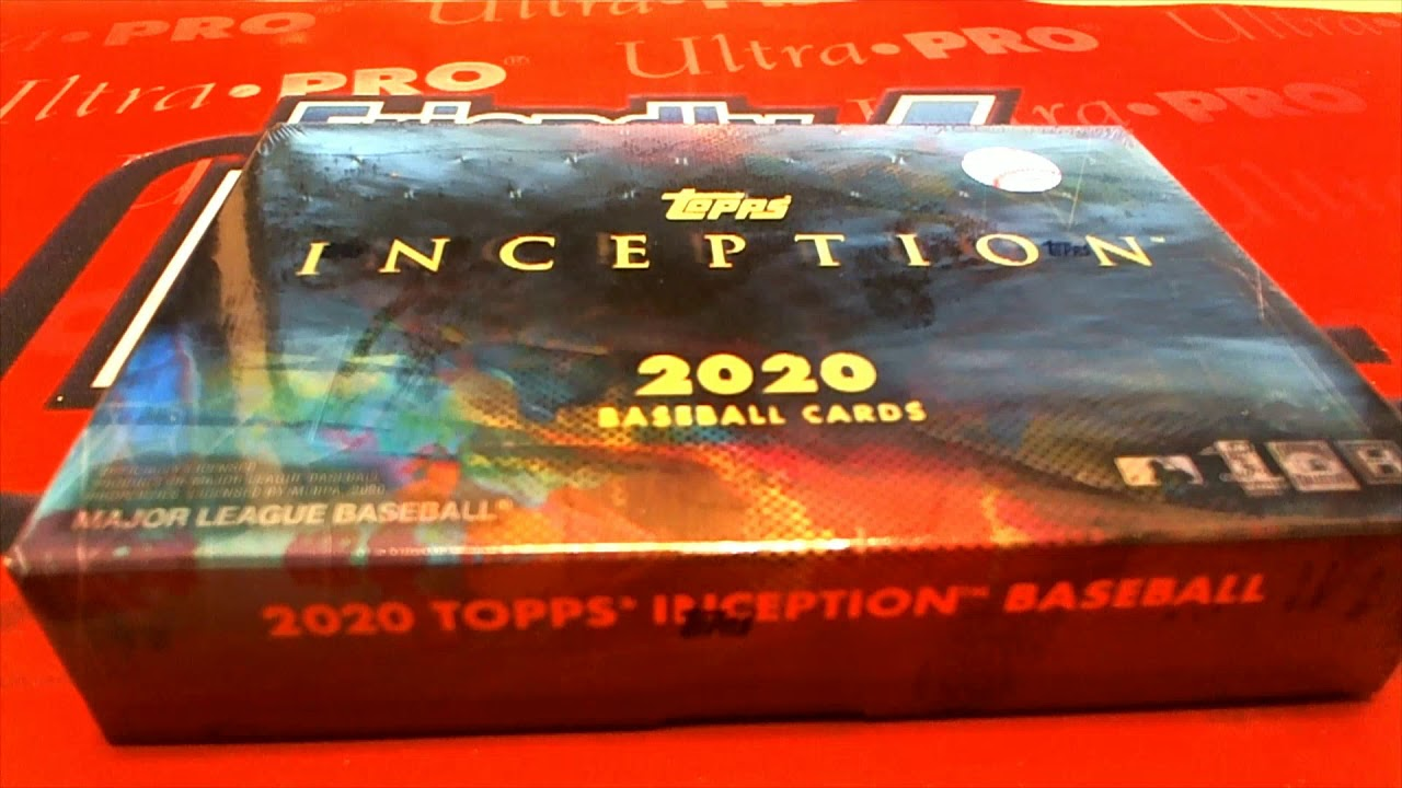 2020 Topps Inception Baseball Hobby Box ID 20INCEPTIONBB114 - 2020 Topps Inception Baseball Hobby Box ID 20INCEPTIONBB114