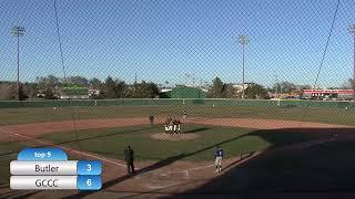 GCCC baseball vs. Butler. Second game - GCCC baseball vs. Butler. Second game