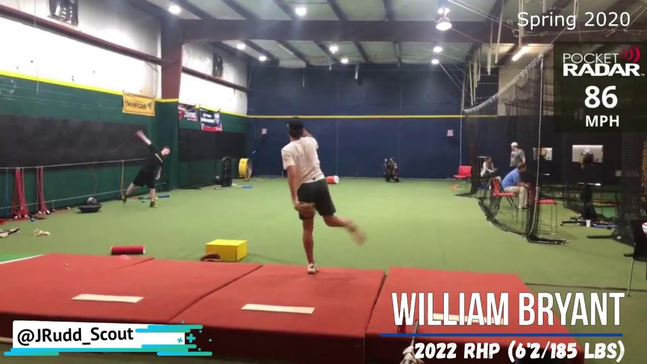 William Bryant 2022 RHP Bullpen Game Film Charlotte NC Showcase Baseball Academy - William Bryant (2022 RHP) // Bullpen & Game Film // Charlotte, NC // Showcase Baseball Academy