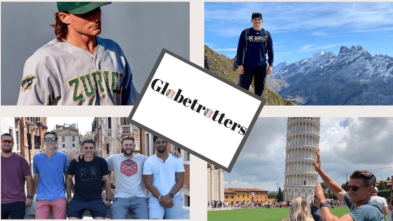 Baseball Globetrotters Ryan Hooper UC Davis in Switzerland - Baseball Globetrotters -  Ryan Hooper (UC Davis) in Switzerland