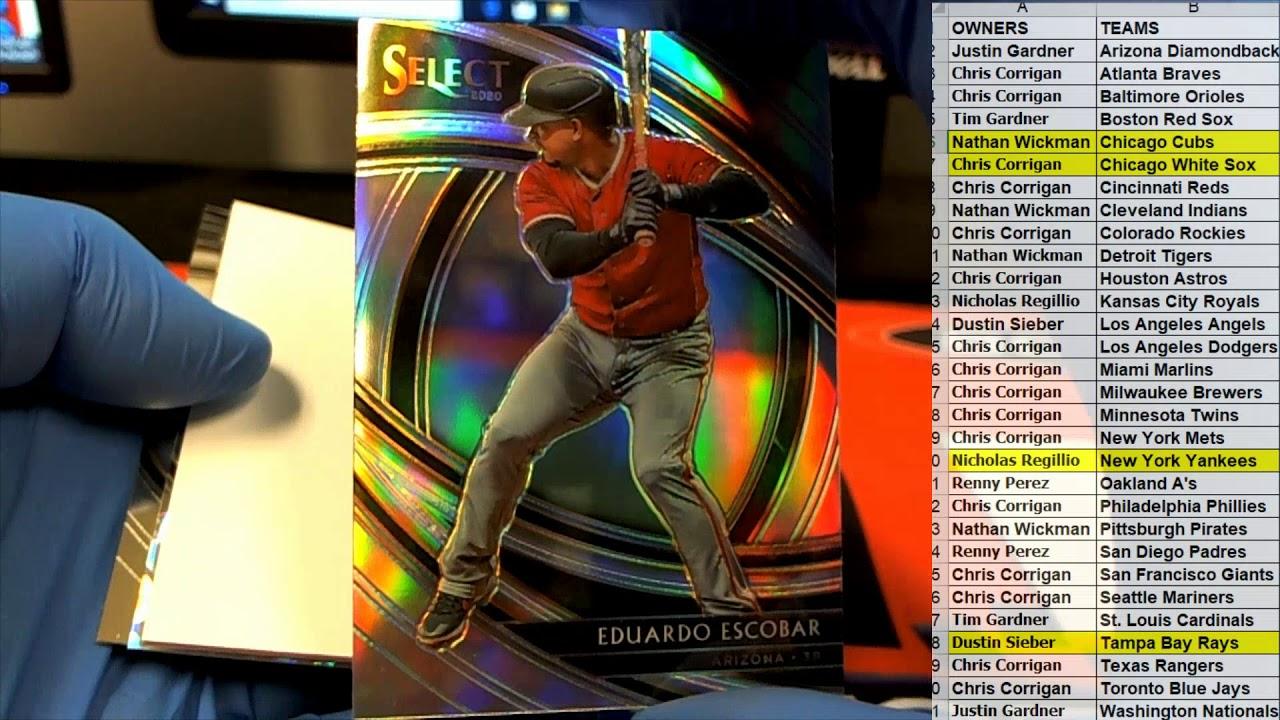 2020 Panini Select Baseball ID 19SELECTBB331 - 2020 Panini Select Baseball ID 19SELECTBB331