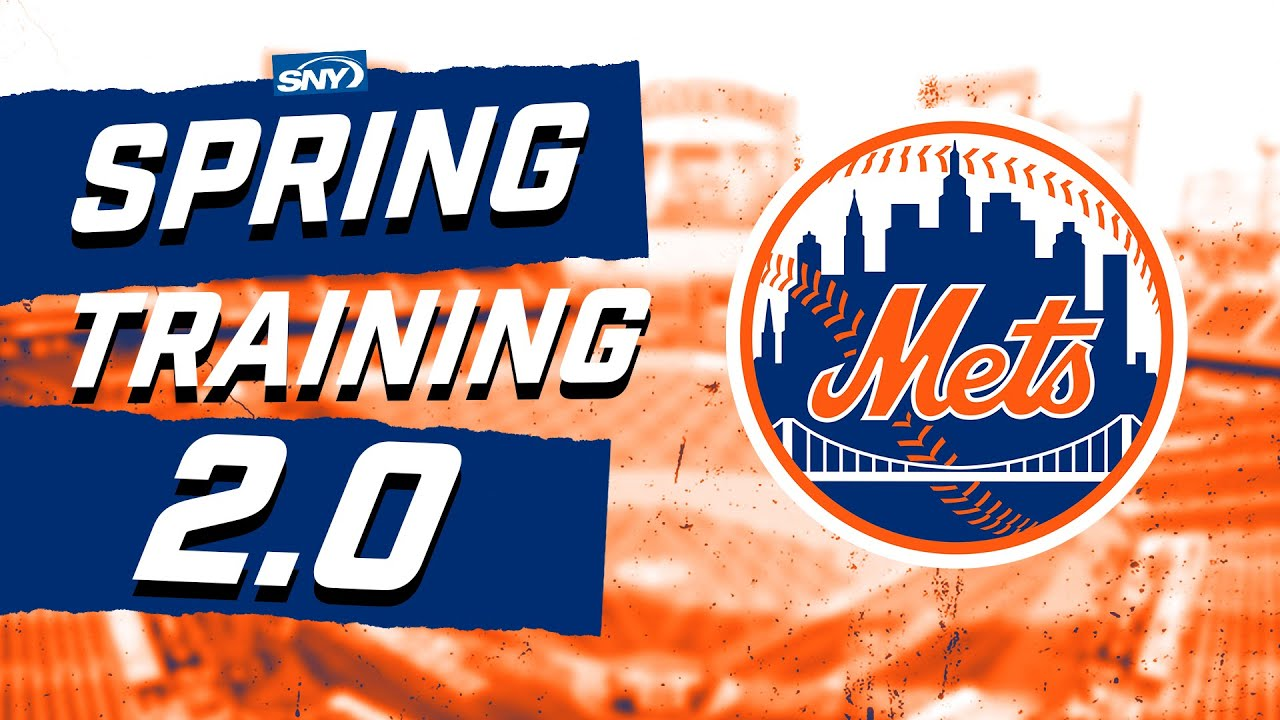 Top Mets storylines heading into Spring Training 2.0 Baseball Night in New York SNY - Top Mets storylines heading into Spring Training 2.0 | Baseball Night in New York | SNY