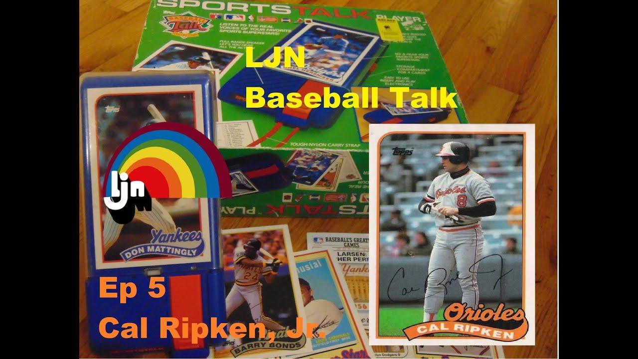 Cal Ripken Jr. Ep 5 Baseball Talk LJN SportsTalk Player 1989 - Cal Ripken, Jr. Ep 5 Baseball Talk - LJN SportsTalk Player 1989