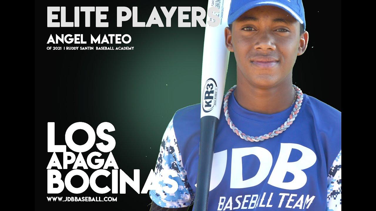 Angel Mateo OF 2021 Class From Ruddy Santin Baseball Academy Date video 26.10.2020 - Angel Mateo OF 2021 Class From Ruddy (Santin Baseball Academy) Date video: 26.10.2020
