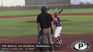 TB SoCal vs NorCal Baseball Condensed Game AZ Fall Classic Oct. 10 2020 - TB SoCal vs NorCal Baseball Condensed Game, AZ Fall Classic Oct. 10, 2020