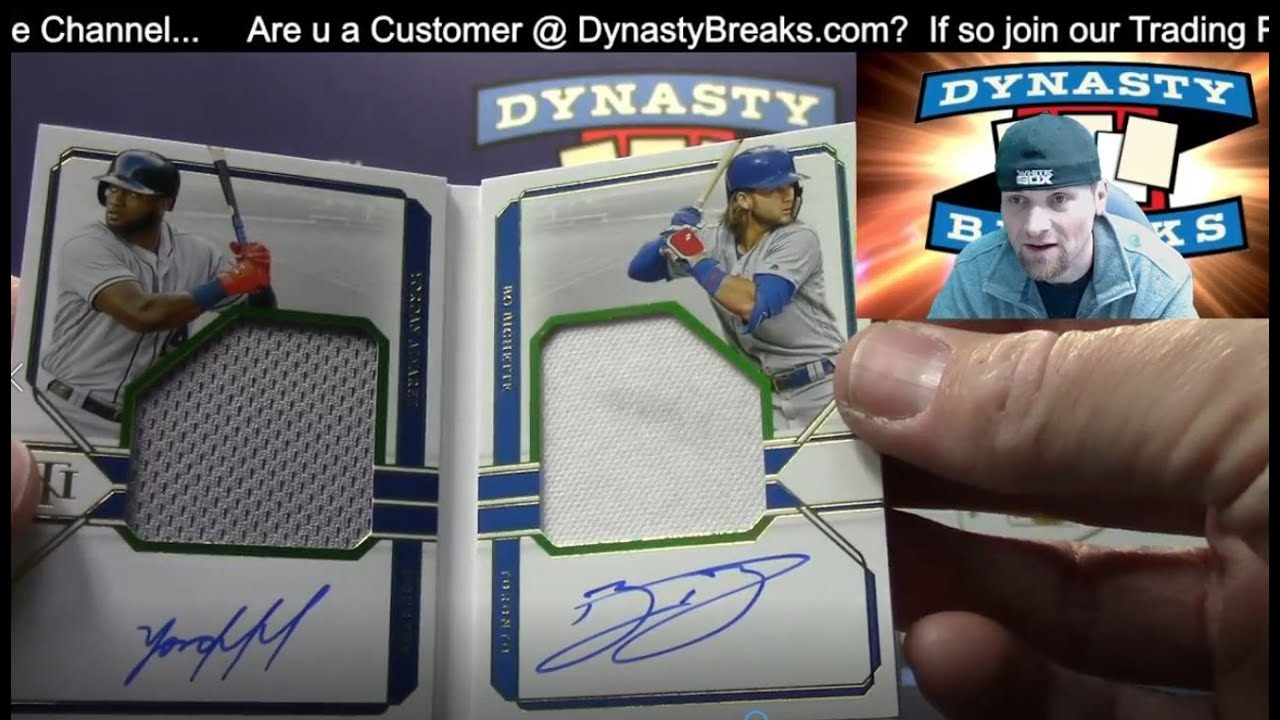 2020 National Treasures Dynasty Baseball Card 9 Box Double Case Break 2 Sports Cards - 2020 National Treasures Dynasty Baseball Card 9 Box Double Case Break #2   Sports Cards
