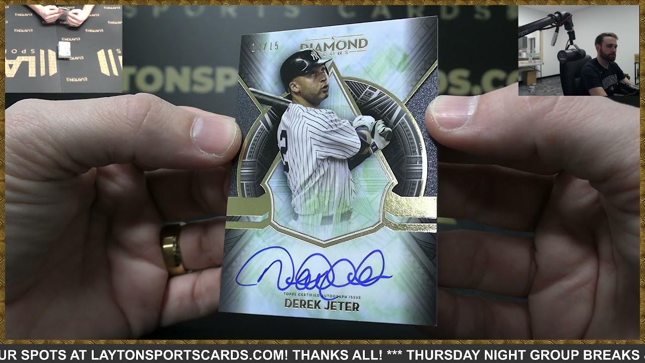 2021 Topps Diamond Icons Baseball Box Break for Michael S - 2021 Topps Diamond Icons Baseball Box Break for Michael S