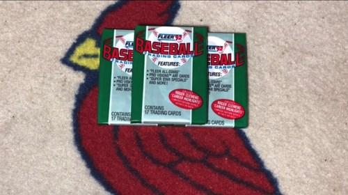 Cracking Junk Wax Baseball Packs 1992 Fleer Wax Pack 5 - Cracking Junk Wax Baseball Packs: 1992 Fleer Wax Pack #5