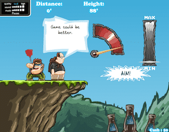 Berzerk land baseball game online