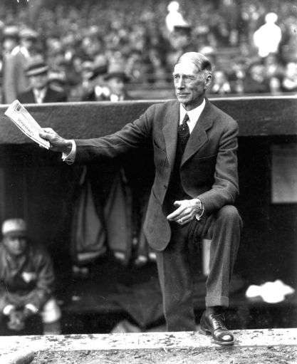 Mack, Connie   Baseball Hall of Fame