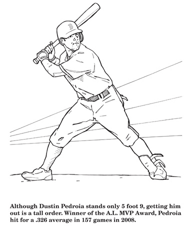 A Review Of Hawk S Nest Publishing S Red Sox Coloring Activity Book Baseball Reflections Baseball Reflections