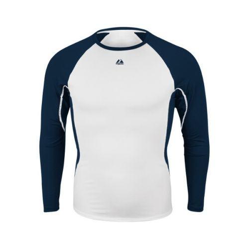 Navy Warrior Adult Long Sleeve Shirt