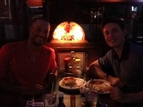 Max & Benji 2015 1st Big League Dinner
