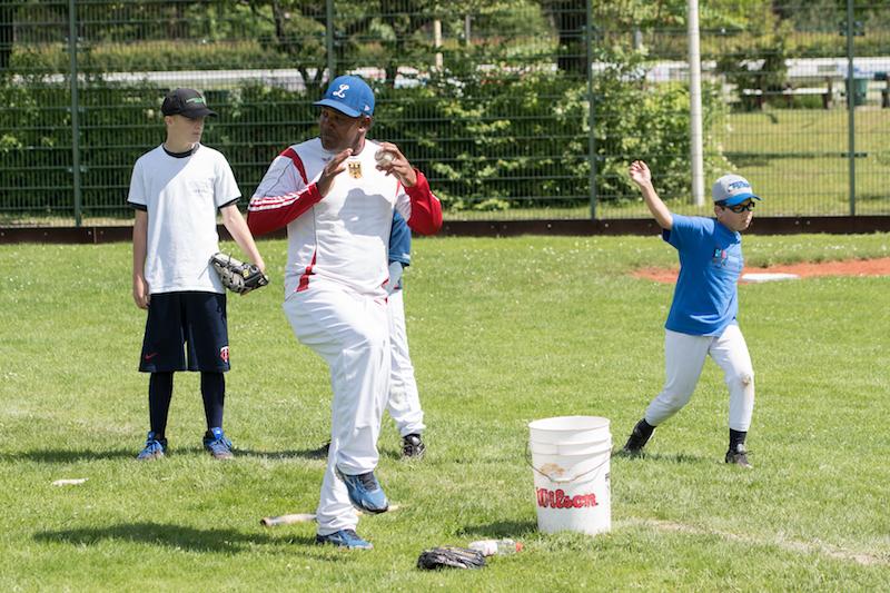 Trainieren der Pitching Motion