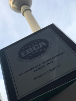 Trophy EBCA Grassroots Development