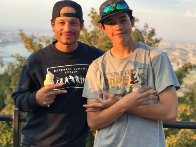 Coach Benji und Ian