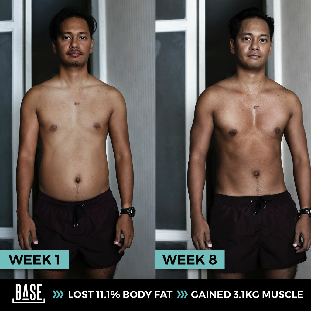Lost 11 1 Body Fat And Gain 3 Kg Muscle In 3 Months