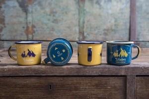designer camp mug