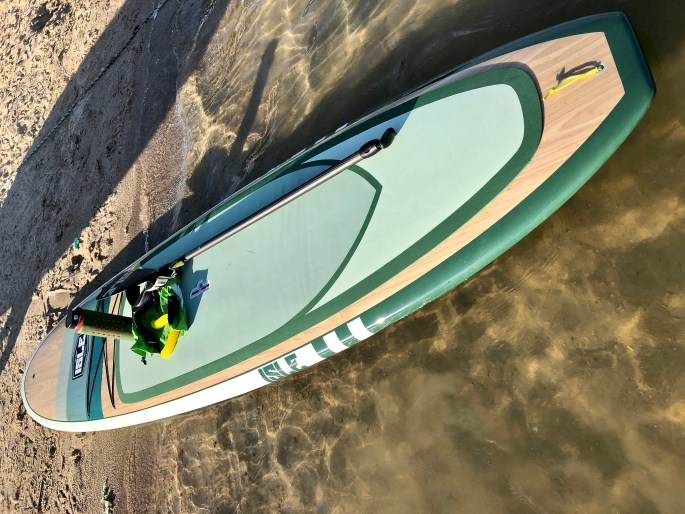 ISLE Surf & SUP Glider Wood