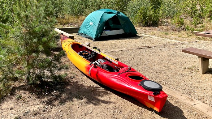 Lake Granby Kayak & Camping Adventure.
