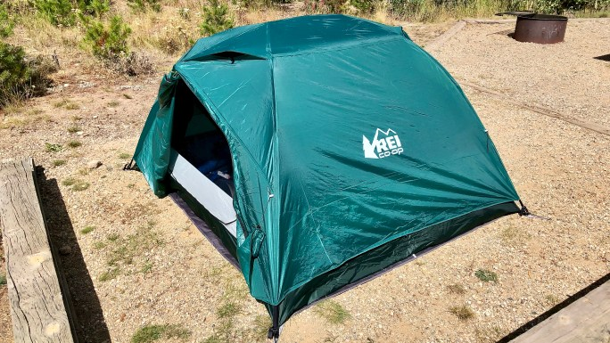 REI Co-op Half Dome 3 Plus Tent Fall Camping