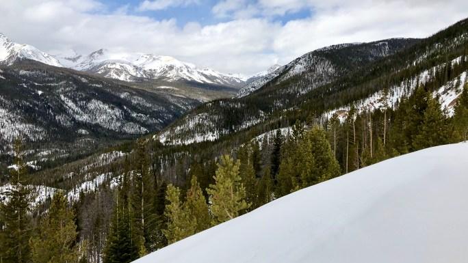 Fairview Curve ~ Trail Ridge Road ~ RMNP