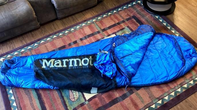 Marmot Trestles Elite Eco 20 Degree Sleeping Bag with Compression Sack and Stuff Sack