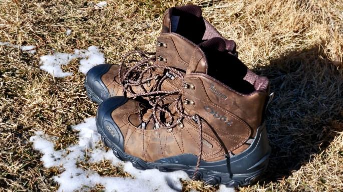 """Oboz Men's Bridger 8"""" Insulated Waterproof boots"""