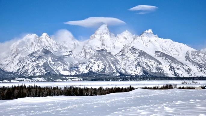 JACKSON HOLE: WINTER PARADISE TAKE II ~ Grand Teton
