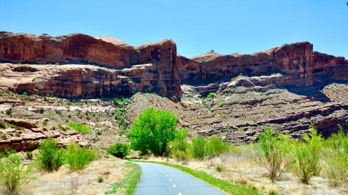 Moab Adventure! Goose Island Trail