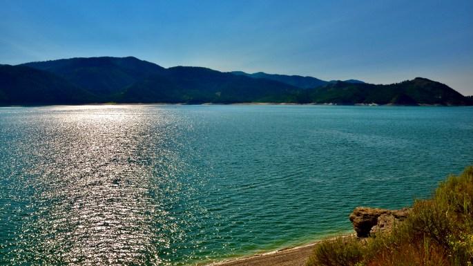 Utah & Wyoming Windy Adventures ~ Palisades Reservoir